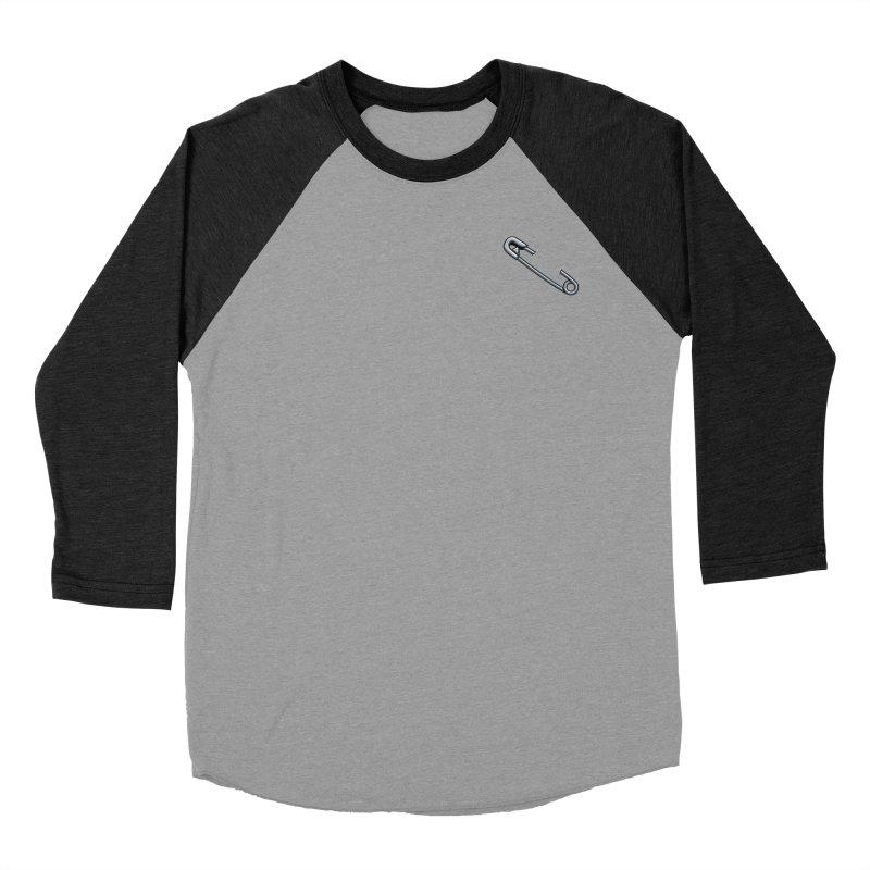 #SafetyPin Women's Baseball Triblend Longsleeve T-Shirt by dinonuggets's Artist Shop