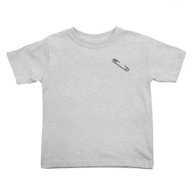 #SafetyPin Kids Toddler T-Shirt by dinonuggets's Artist Shop