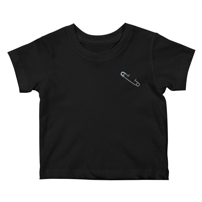 #SafetyPin Kids Baby T-Shirt by dinonuggets's Artist Shop