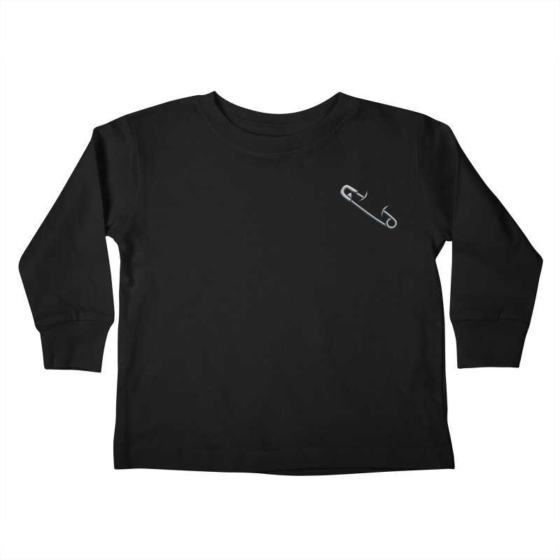 #SafetyPin Kids Toddler Longsleeve T-Shirt by dinonuggets's Artist Shop