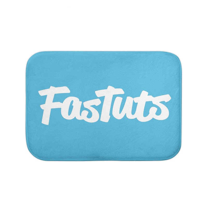 Fastuts Logo Home Bath Mat by dinonuggets's Artist Shop