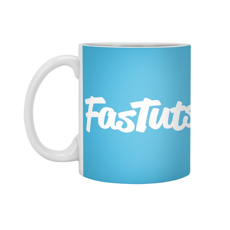 Fastuts Logo Accessories Standard Mug by dinonuggets's Artist Shop