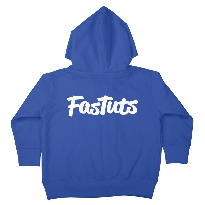 Fastuts Logo Kids Toddler Zip-Up Hoody by dinonuggets's Artist Shop