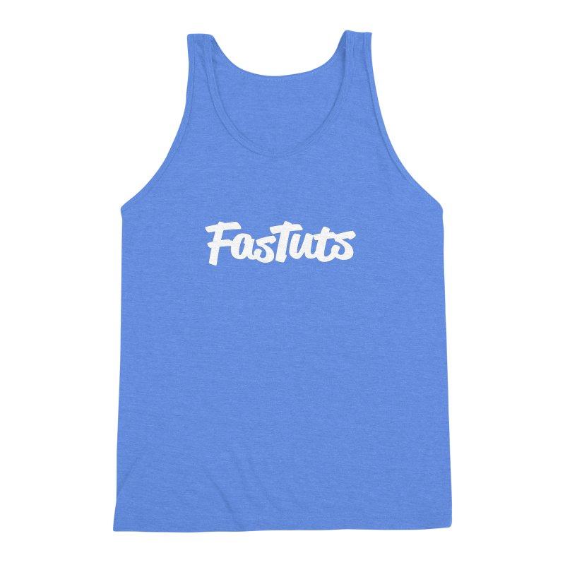 Fastuts Logo Men's Triblend Tank by dinonuggets's Artist Shop