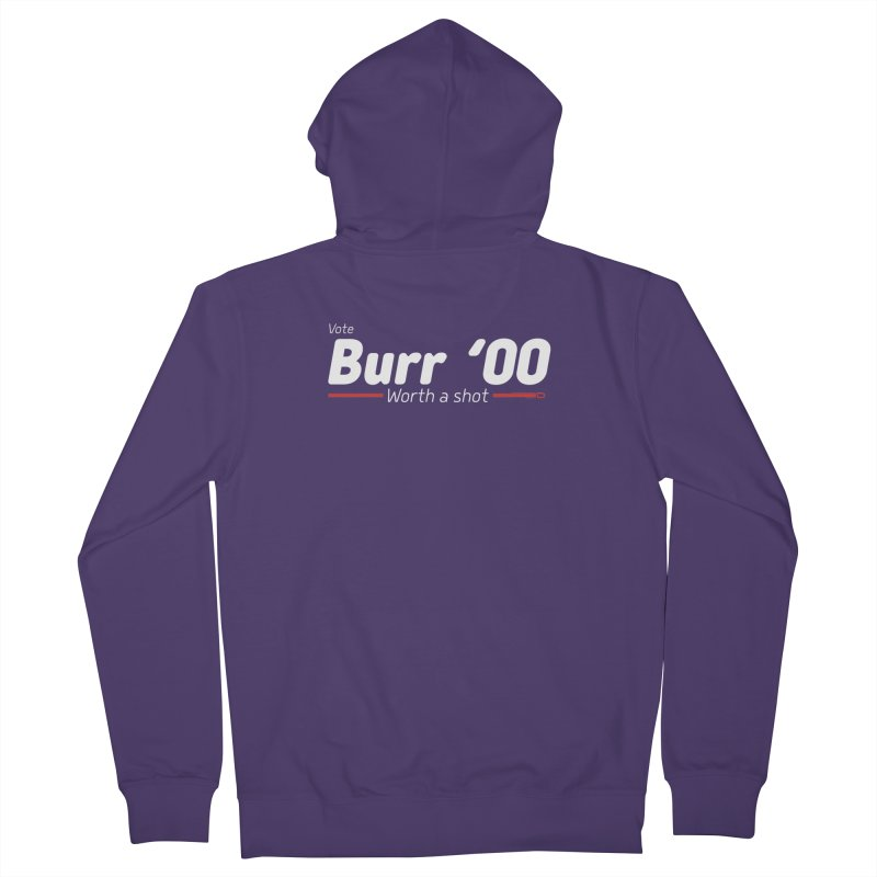 Aaron Burr - The Election of 1800 (Hamilton) Women's Zip-Up Hoody by dinonuggets's Artist Shop
