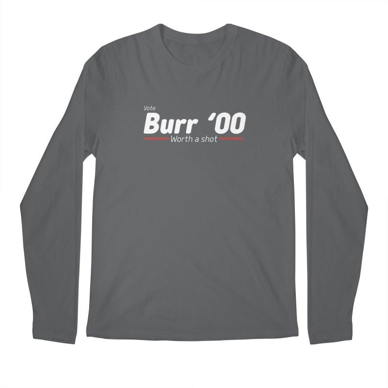 Aaron Burr - The Election of 1800 (Hamilton) Men's Regular Longsleeve T-Shirt by dinonuggets's Artist Shop