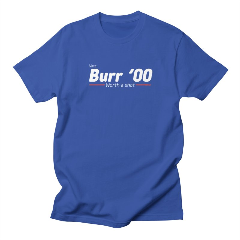 Aaron Burr - The Election of 1800 (Hamilton) Men's Regular T-Shirt by dinonuggets's Artist Shop