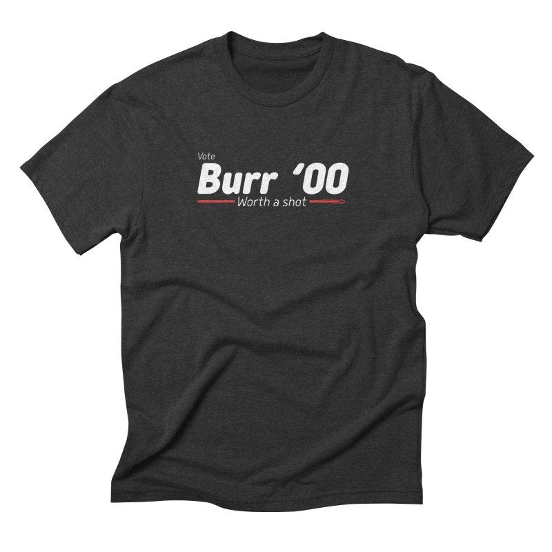 Aaron Burr - The Election of 1800 (Hamilton) Men's Triblend T-Shirt by dinonuggets's Artist Shop
