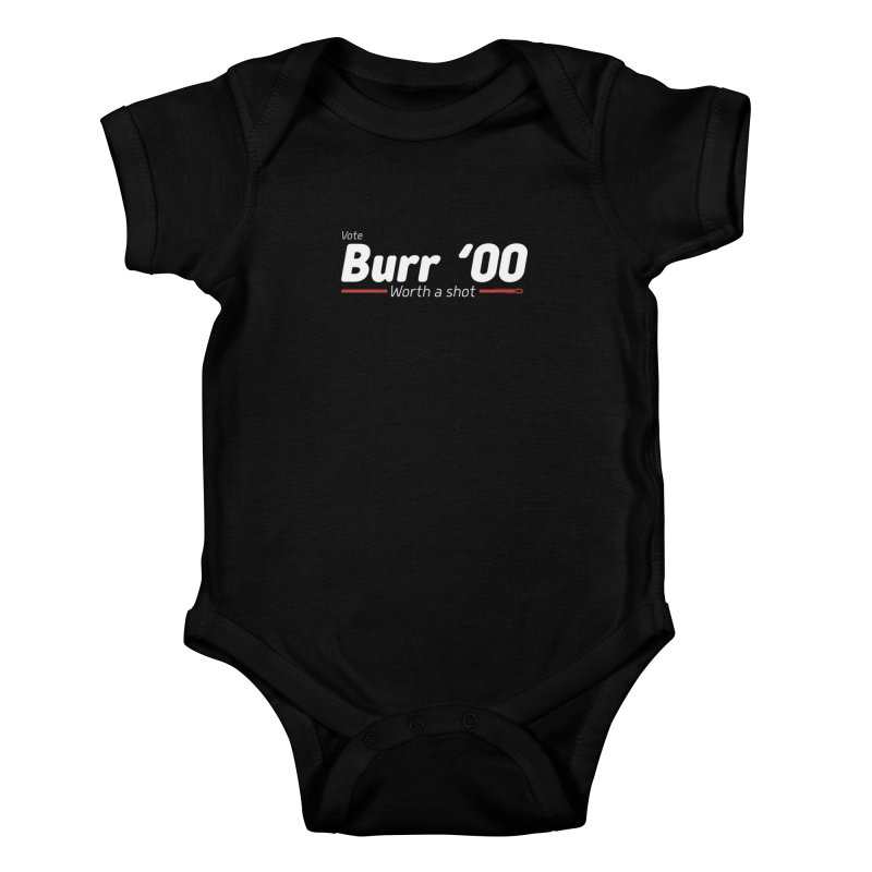 Aaron Burr - The Election of 1800 (Hamilton) Kids Baby Bodysuit by dinonuggets's Artist Shop