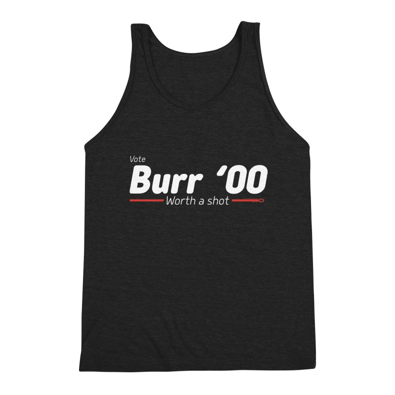 Aaron Burr - The Election of 1800 (Hamilton) Men's Triblend Tank by dinonuggets's Artist Shop
