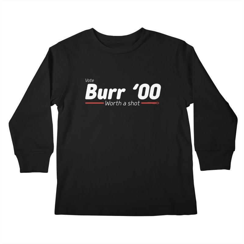 Aaron Burr - The Election of 1800 (Hamilton) Kids Longsleeve T-Shirt by dinonuggets's Artist Shop