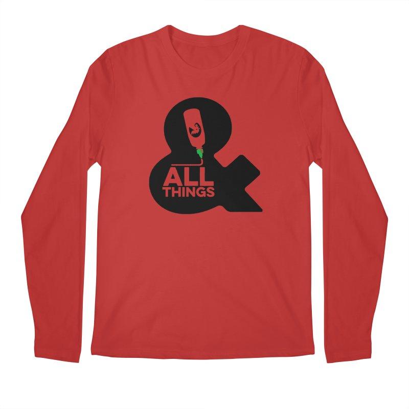 Sriracha & ALL THINGS Men's Regular Longsleeve T-Shirt by dinonuggets's Artist Shop