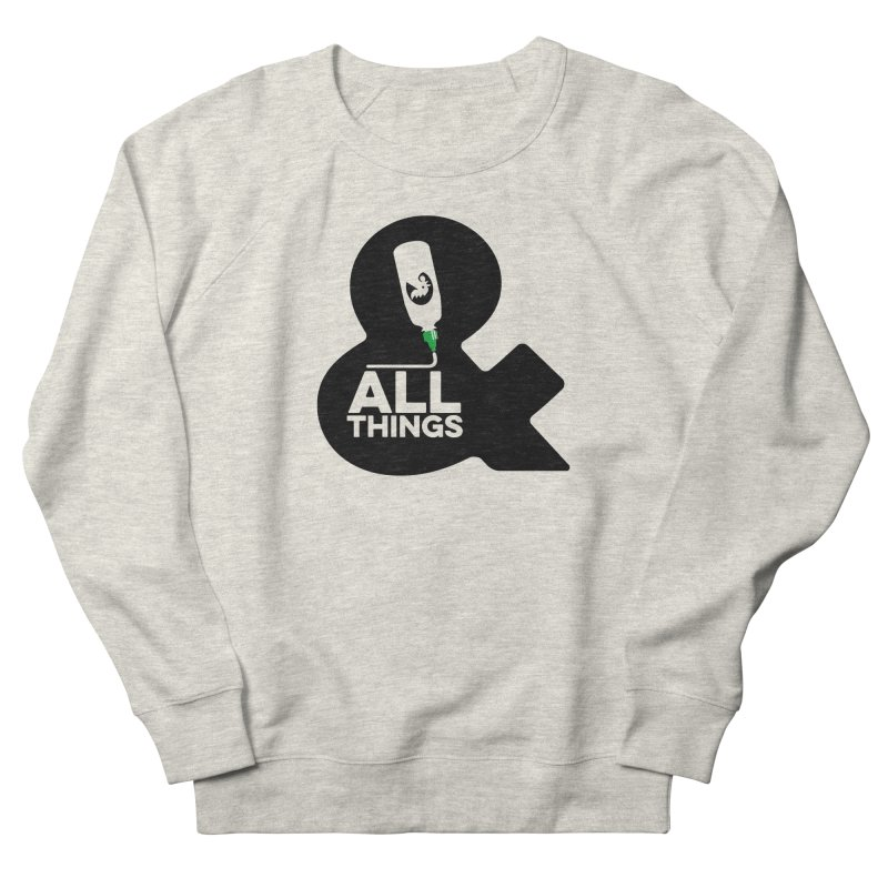 Sriracha & ALL THINGS Women's French Terry Sweatshirt by dinonuggets's Artist Shop