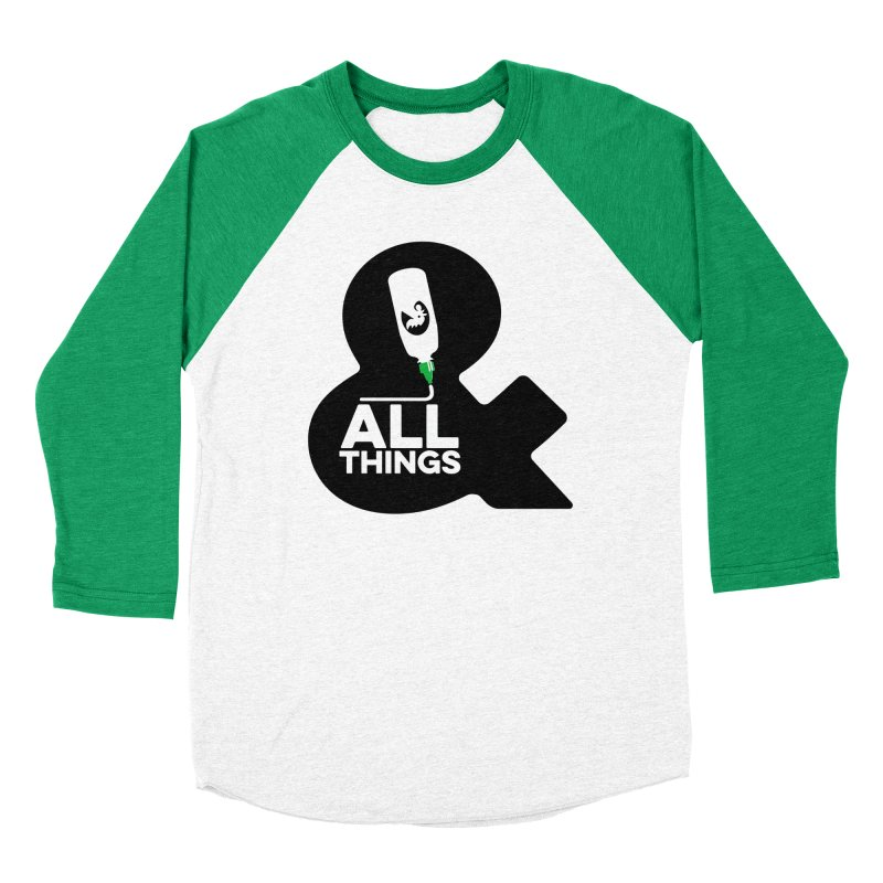 Sriracha & ALL THINGS Men's Baseball Triblend Longsleeve T-Shirt by dinonuggets's Artist Shop
