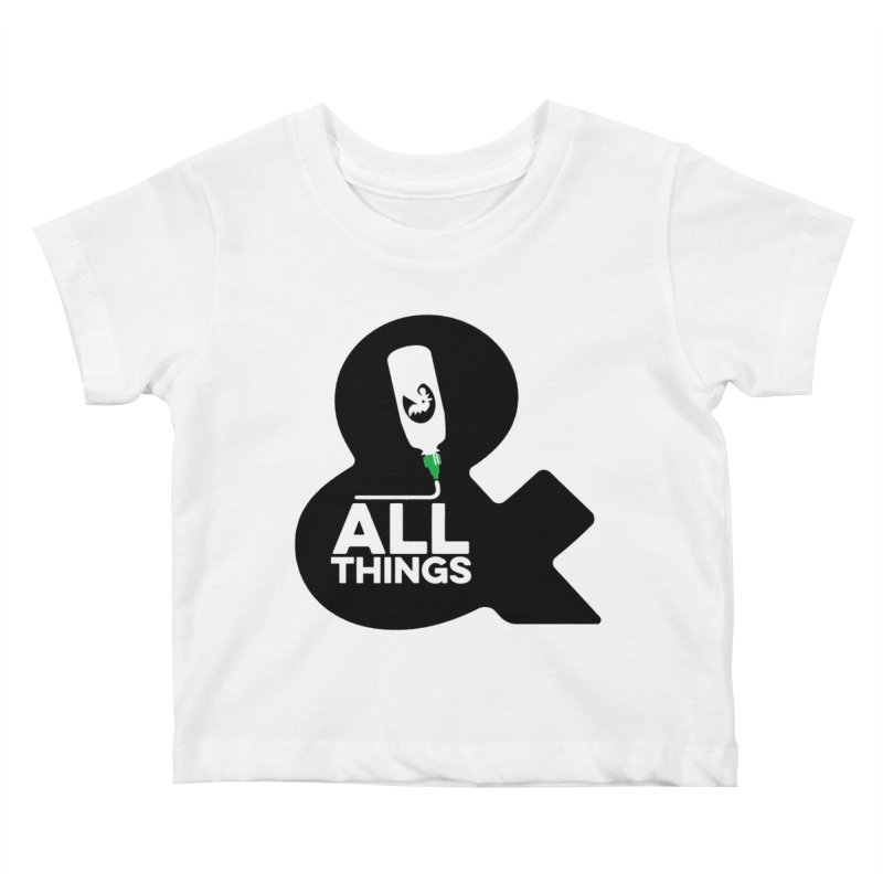 Sriracha & ALL THINGS Kids Baby T-Shirt by dinonuggets's Artist Shop