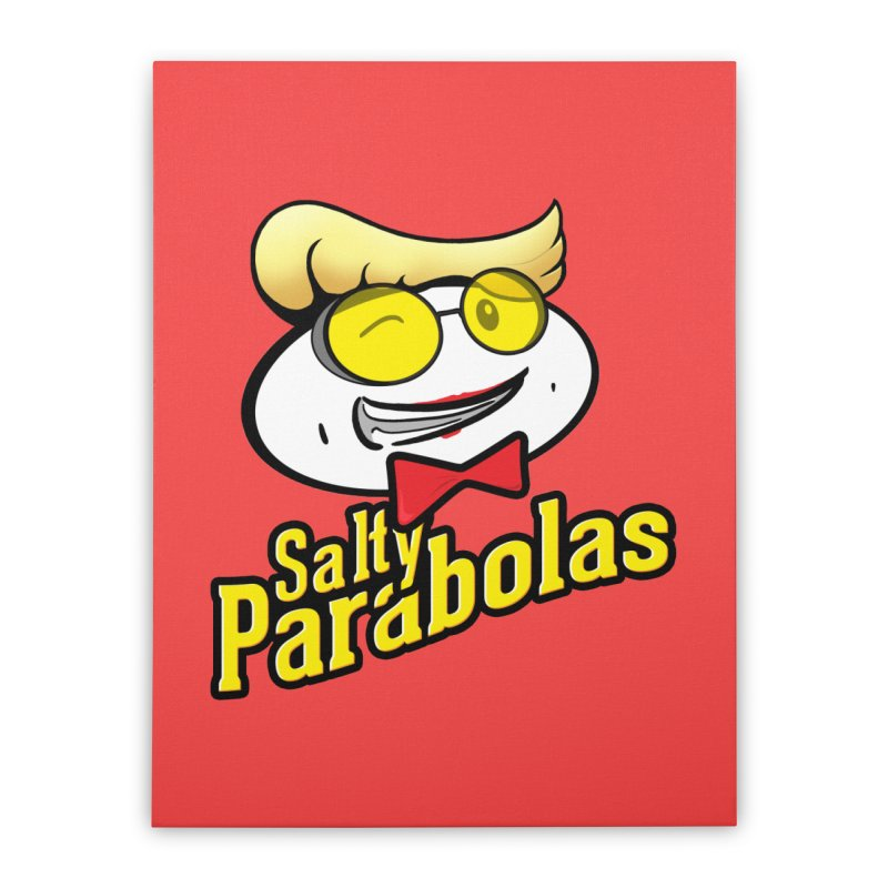Holtzmann's Salty Parabolas Home Stretched Canvas by dinonuggets's Artist Shop