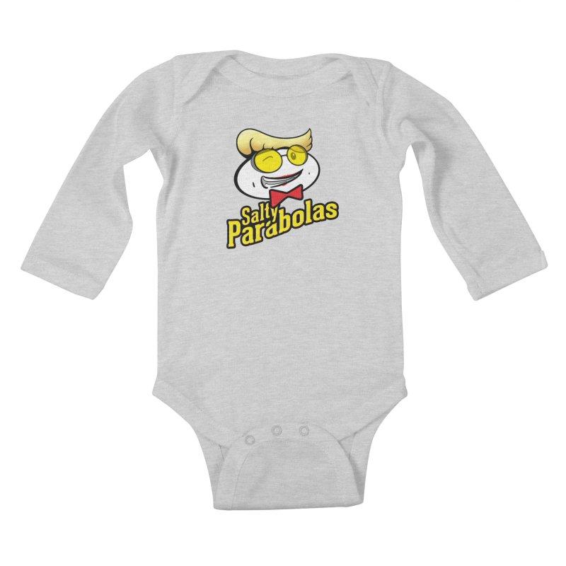 Holtzmann's Salty Parabolas Kids Baby Longsleeve Bodysuit by dinonuggets's Artist Shop