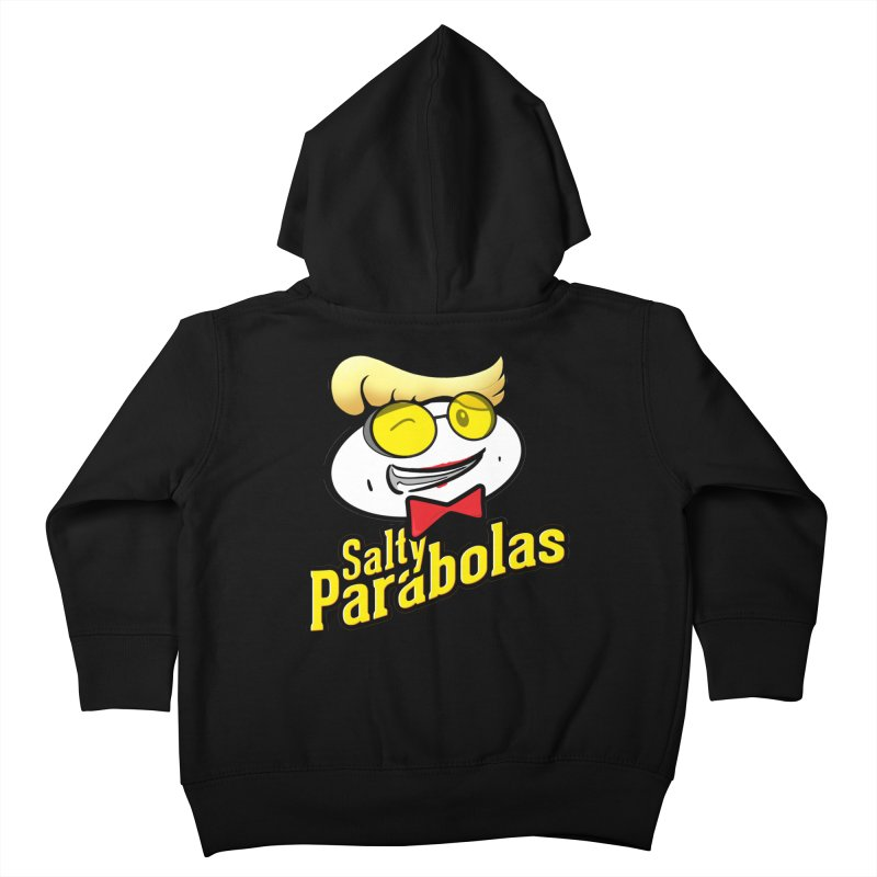 Holtzmann's Salty Parabolas Kids Toddler Zip-Up Hoody by dinonuggets's Artist Shop