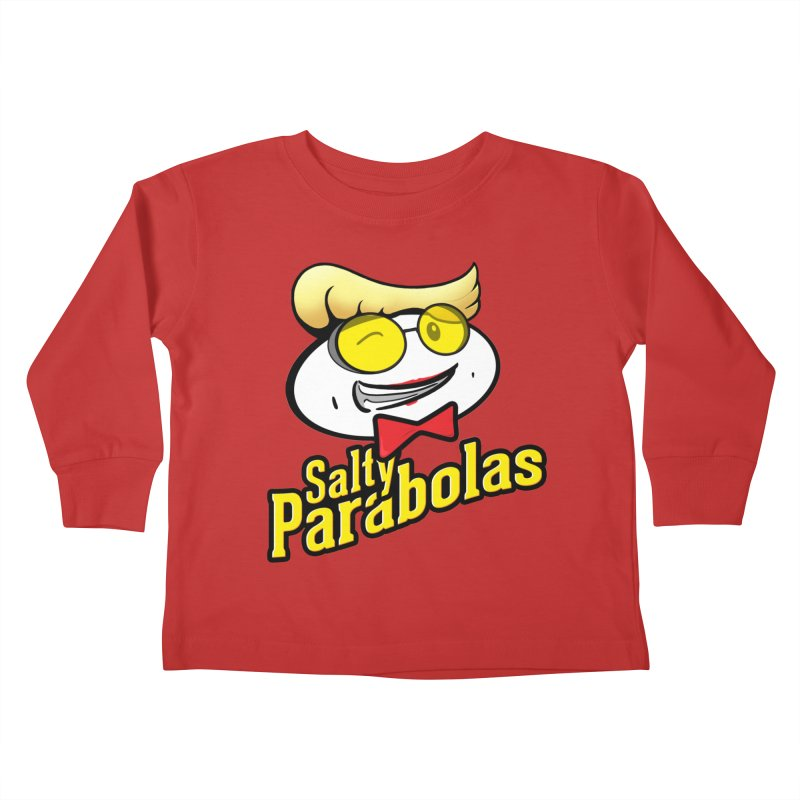 Holtzmann's Salty Parabolas Kids Toddler Longsleeve T-Shirt by dinonuggets's Artist Shop
