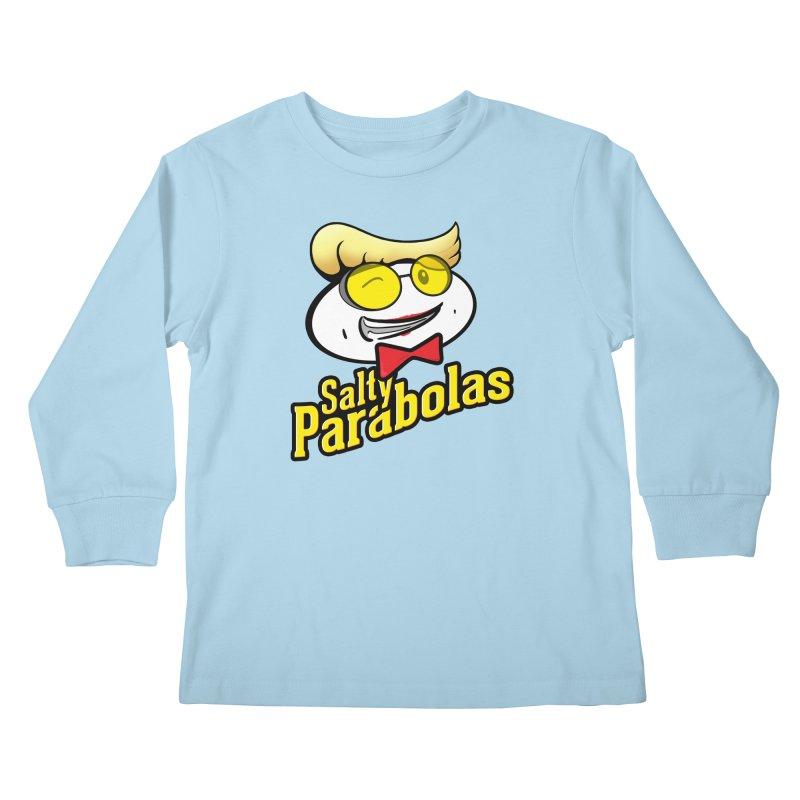 Holtzmann's Salty Parabolas Kids Longsleeve T-Shirt by dinonuggets's Artist Shop