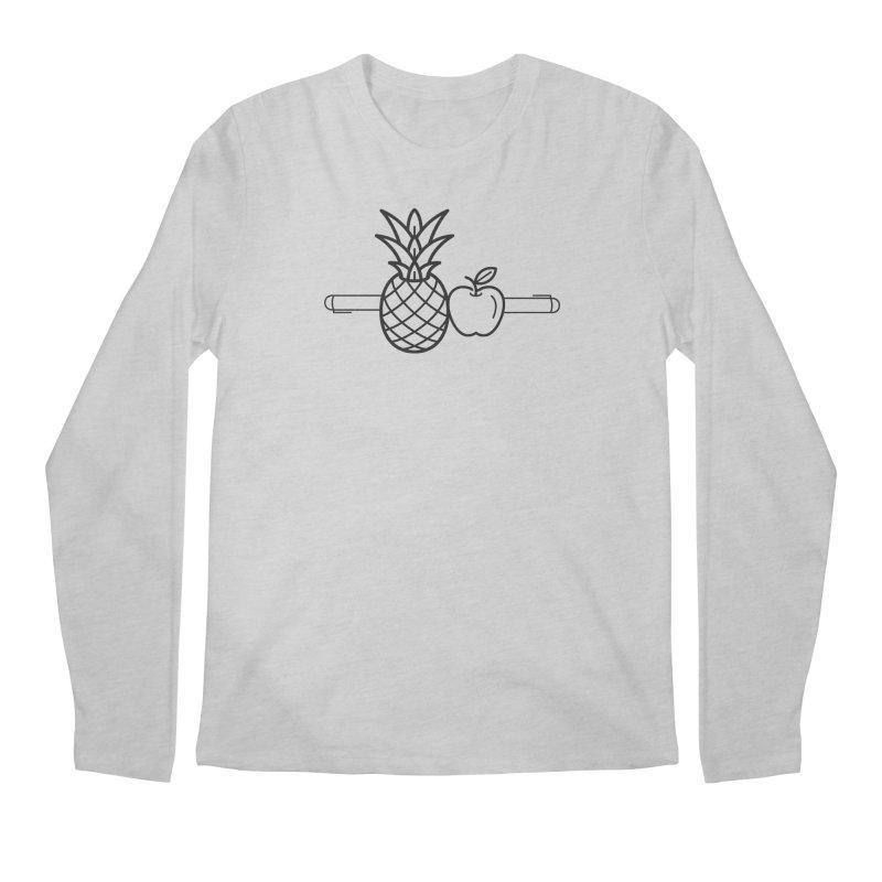 PPAP Pen Pineapple Apple Pen Men's Regular Longsleeve T-Shirt by dinonuggets's Artist Shop
