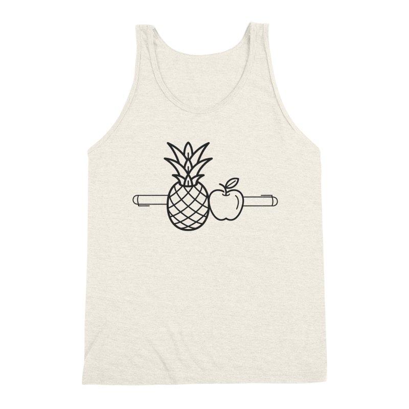 PPAP Pen Pineapple Apple Pen Men's Triblend Tank by dinonuggets's Artist Shop