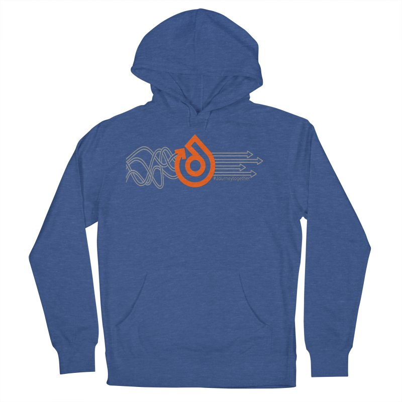 The Straight & Narrow Journey! Men's French Terry Pullover Hoody by direction.church gear