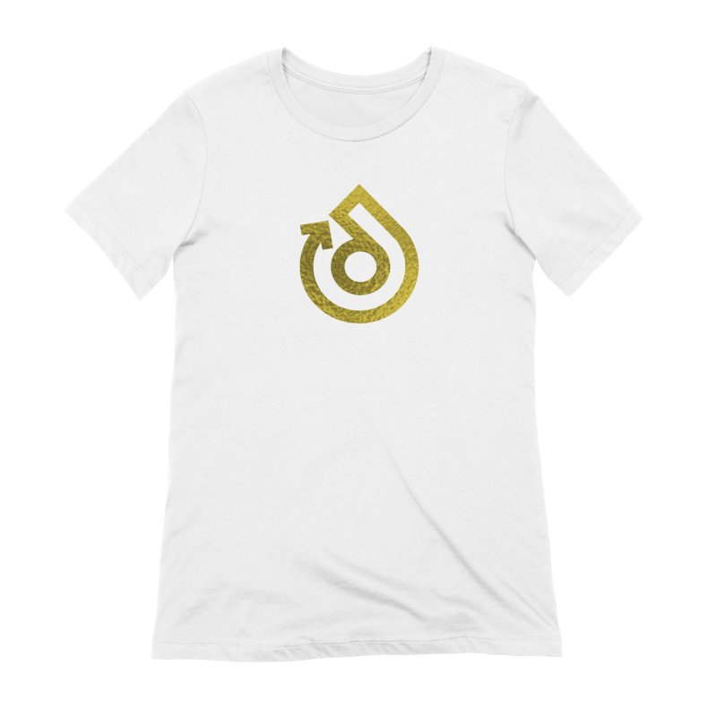 GOLD FOIL Women's Extra Soft T-Shirt by direction.church gear