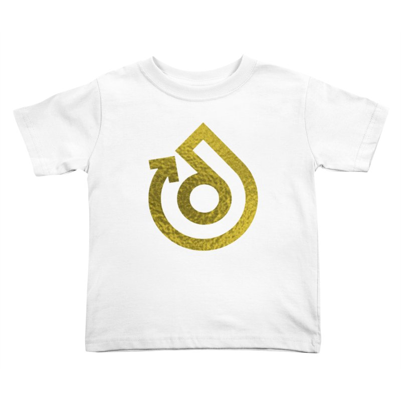 GOLD FOIL Kids Toddler T-Shirt by direction.church gear