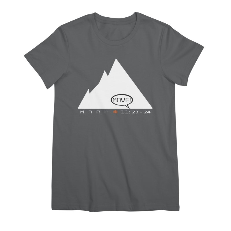 MOVE! Women's Premium T-Shirt by direction.church gear