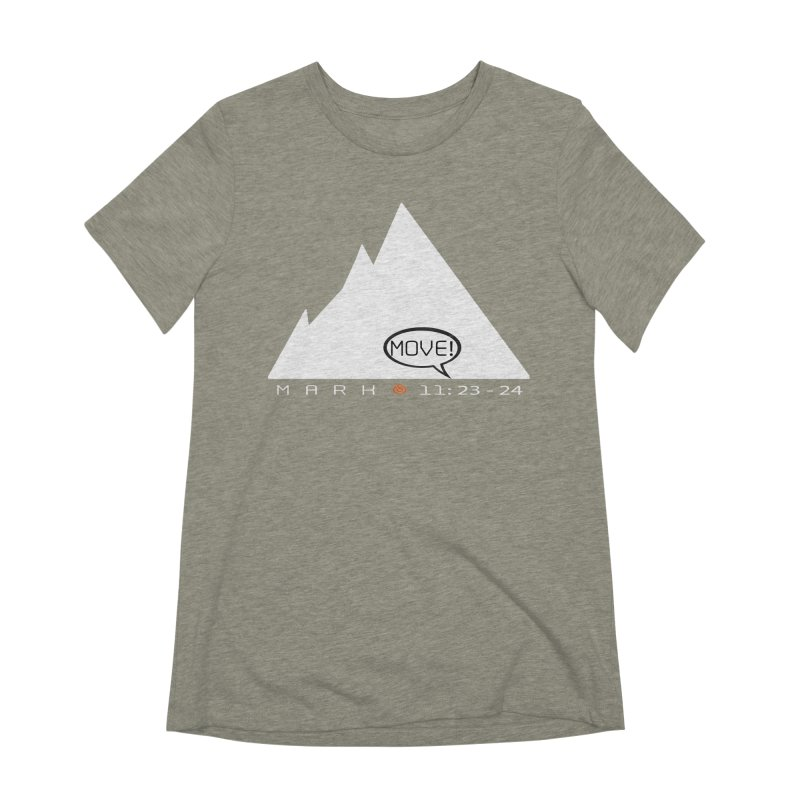 MOVE! Women's Extra Soft T-Shirt by direction.church gear