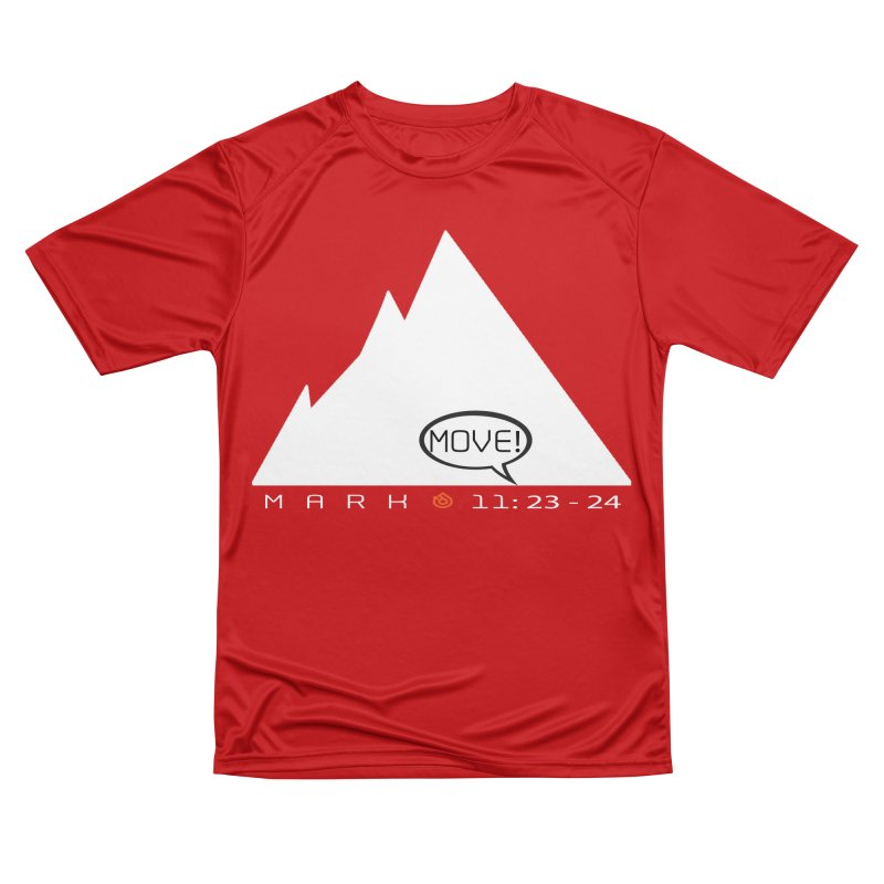MOVE! Women's Performance Unisex T-Shirt by direction.church gear