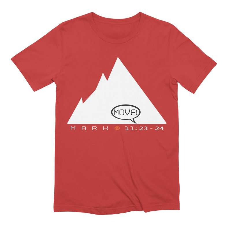 MOVE! Men's Extra Soft T-Shirt by direction.church gear