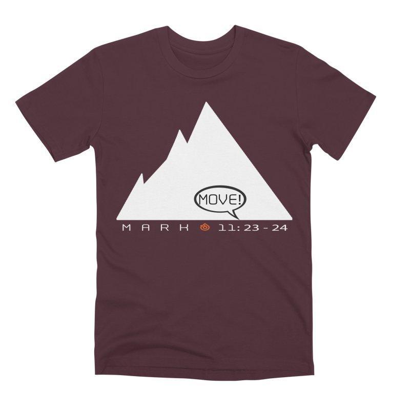 MOVE! Men's Premium T-Shirt by direction.church gear