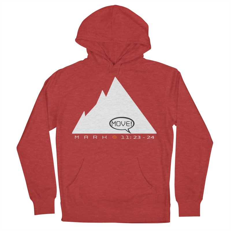 MOVE! Women's French Terry Pullover Hoody by direction.church gear