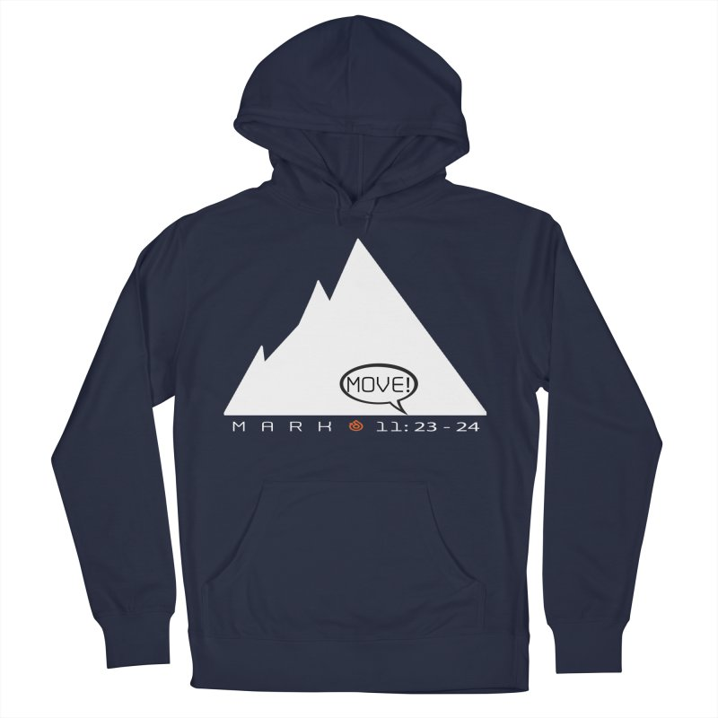 MOVE! Men's French Terry Pullover Hoody by direction.church gear