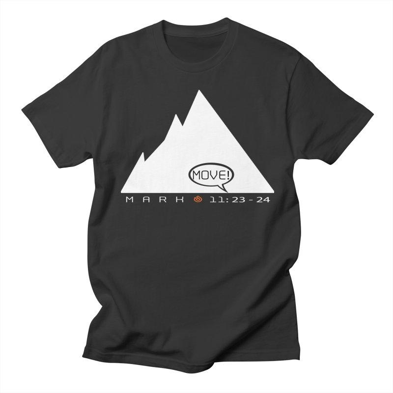 MOVE! Men's Regular T-Shirt by direction.church gear