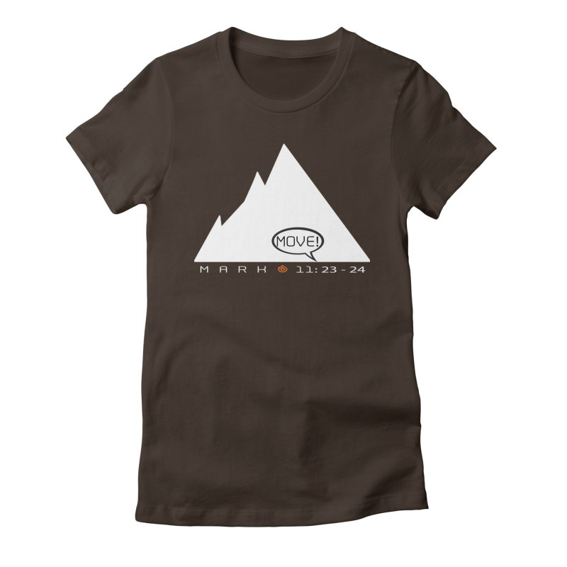 MOVE! Women's Fitted T-Shirt by direction.church gear