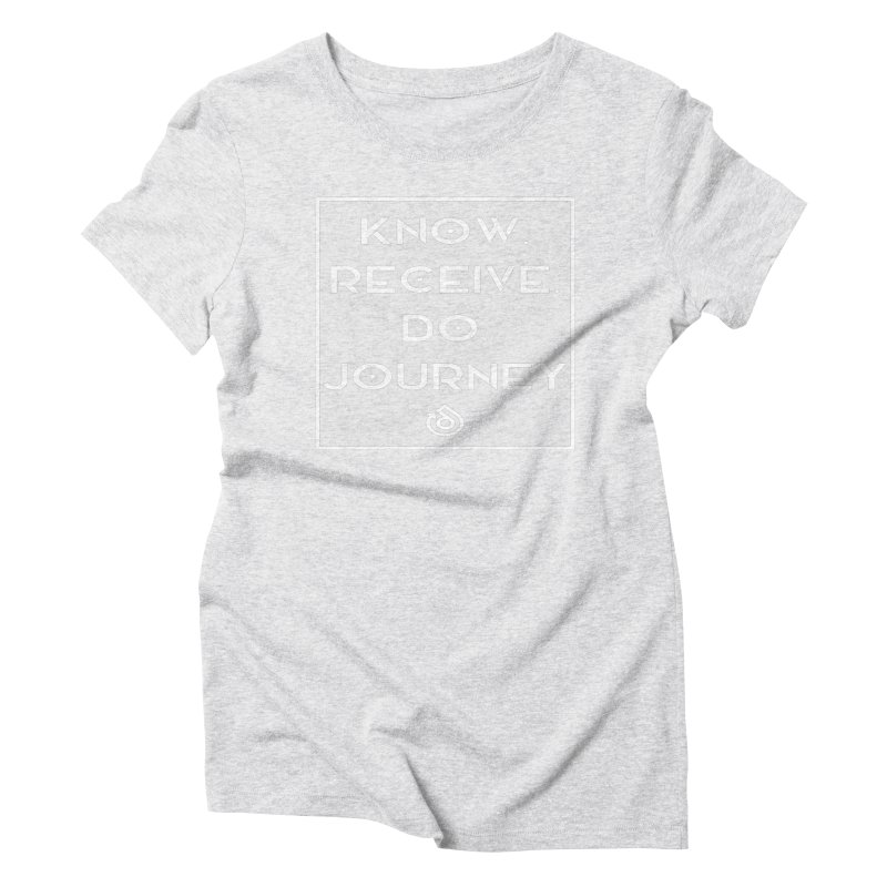 THE VISION Women's Triblend T-Shirt by direction.church gear