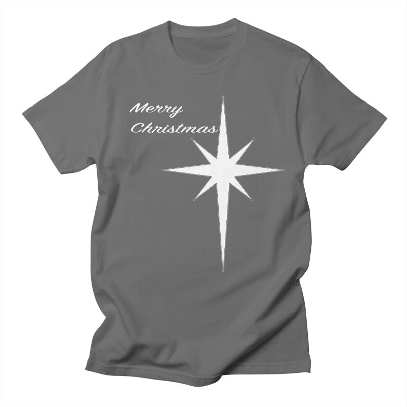Christmas Star Men's T-Shirt by direction.church gear