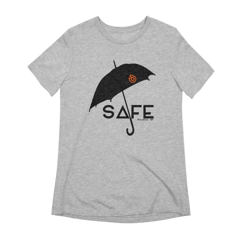 SAFE Women's Extra Soft T-Shirt by direction.church gear