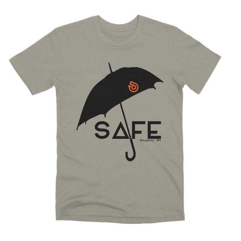 SAFE Men's Premium T-Shirt by direction.church gear