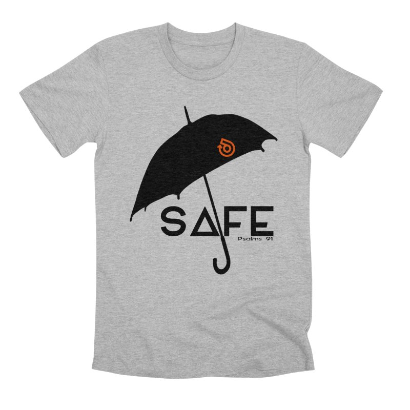 SAFE Men's Premium T-Shirt by direction.church gear