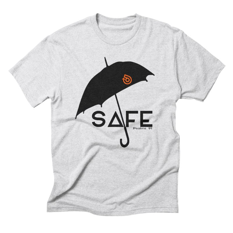SAFE Men's Triblend T-Shirt by direction.church gear