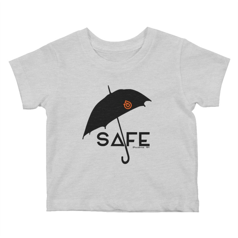 SAFE Kids Baby T-Shirt by direction.church gear