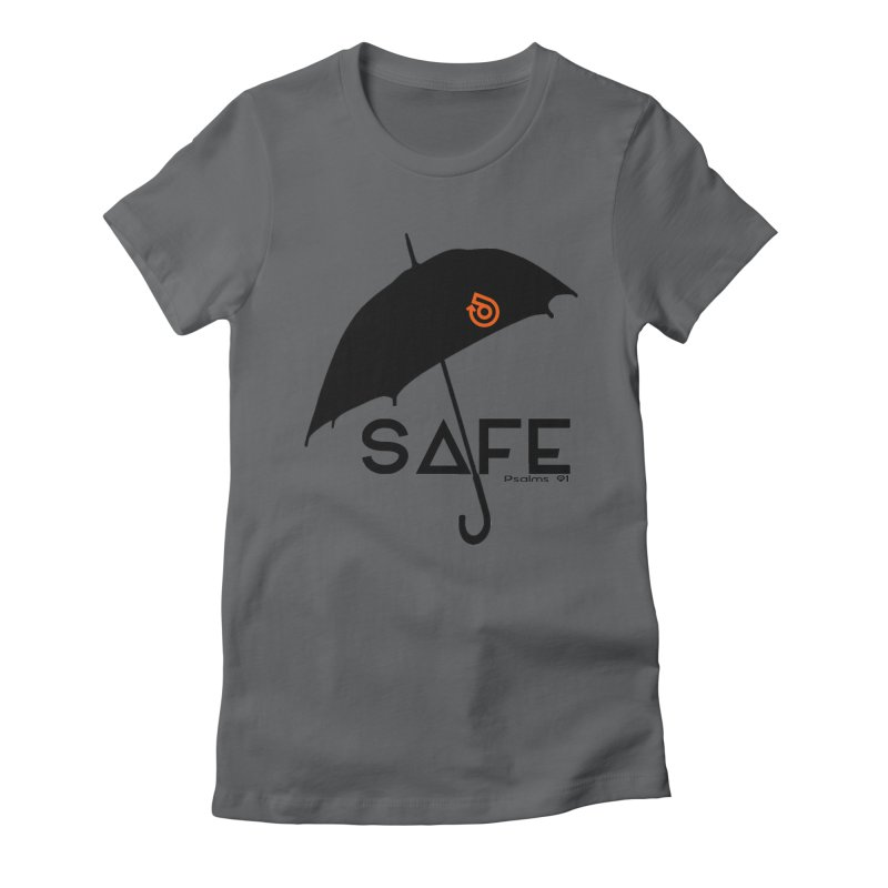 SAFE Women's Fitted T-Shirt by direction.church gear