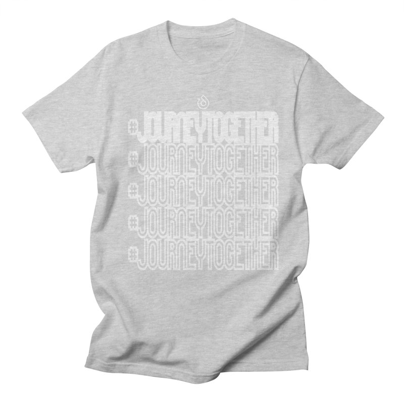 journeytogether repeat white print Women's Regular Unisex T-Shirt by direction.church gear