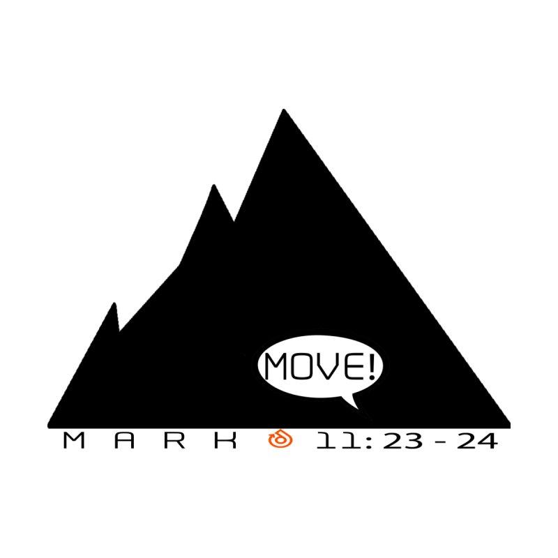 MOVE! BLACK PRINT Men's T-Shirt by direction.church gear