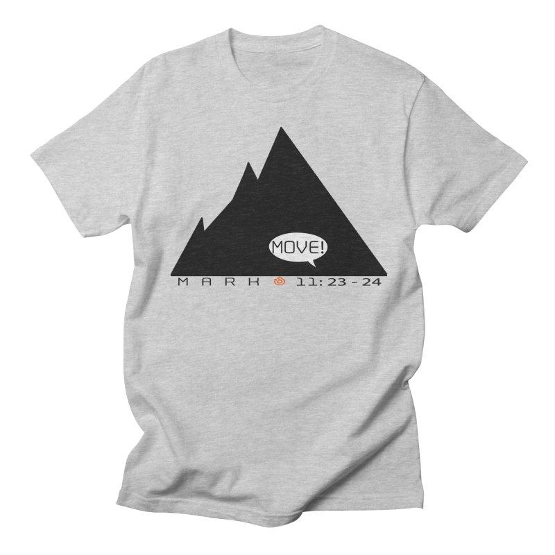 MOVE! BLACK PRINT Women's Regular Unisex T-Shirt by direction.church gear