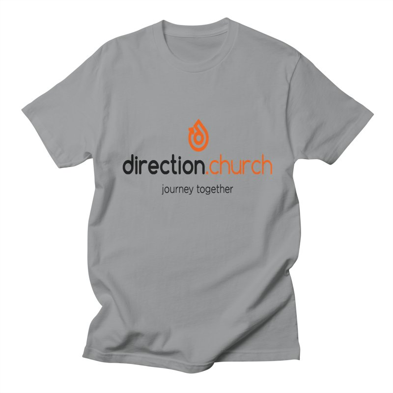 Full Color Logo Shirts Women's Regular Unisex T-Shirt by direction.church gear